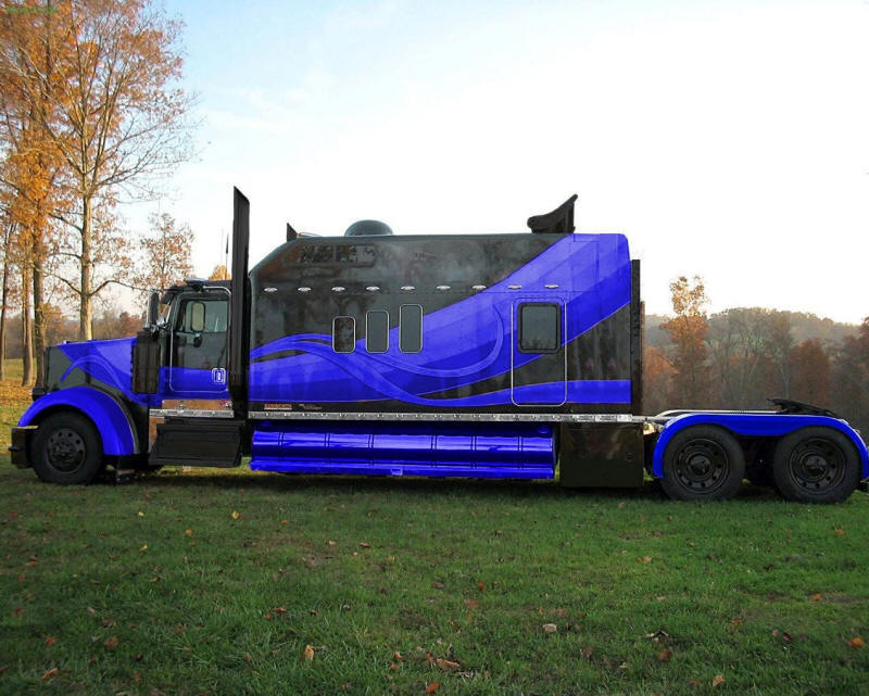 Kenworth truck photos pictures of kenworth trucks for Camion americain interieur